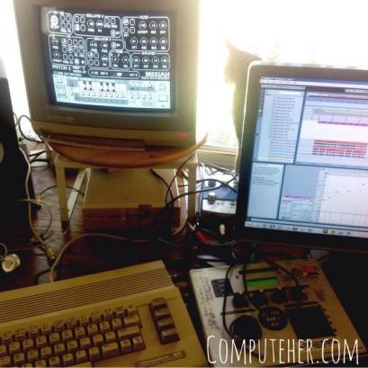 Recording new songs in my studio!